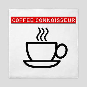 Coffee Connoisseur Queen Duvet