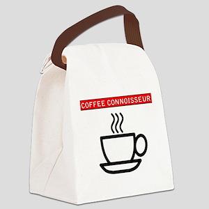 Coffee Connoisseur Canvas Lunch Bag