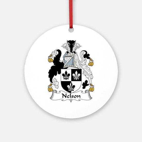 Nelson Ornament (Round)