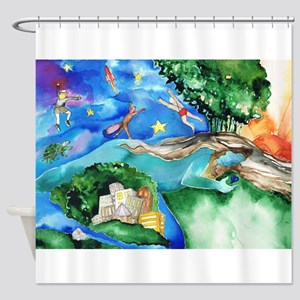 Dreaming. Shower Curtain