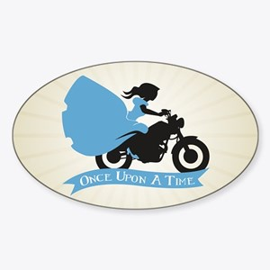 OUAT Ballgown Motorcycle Sticker