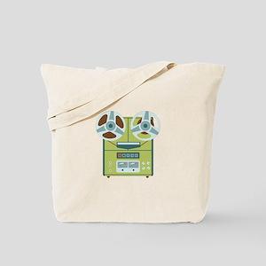 Reel to Reel Recorder Tote Bag
