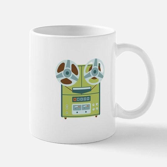 Reel to Reel Recorder Mugs