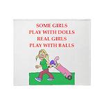 golf Throw Blanket