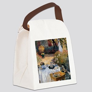 The Luncheon Monet Canvas Lunch Bag