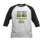 Cricket and Viola Kids Baseball Jersey