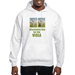 Cricket and Viola Hooded Sweatshirt