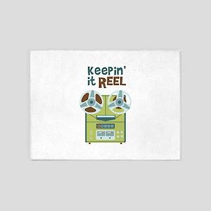 Keepin it Reel 5'x7'Area Rug
