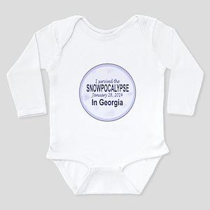 Snowcopalypse in Georgia Body Suit
