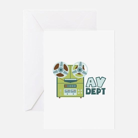 AV Dept Greeting Cards