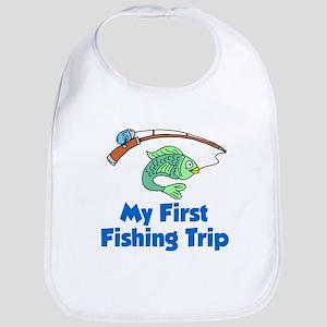 My First Fishing Trip Bib