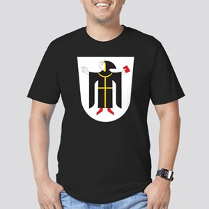 Munich Coat Of Arms Black T-Shirt