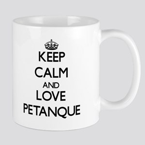Keep calm and love Petanque Mugs