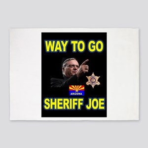SHERIFF JOE 5'x7'Area Rug