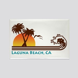 Laguna Beach Rectangle Magnet