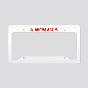 golf License Plate Holder