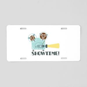 Showtime Aluminum License Plate