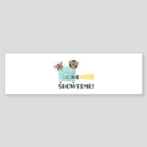 Showtime Bumper Sticker