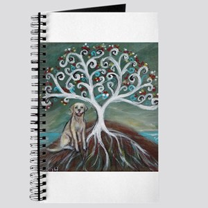 Yellow Labrador Tree of Life Journal