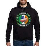 Irish flag Dark Hoodies