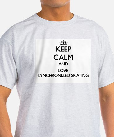 Keep calm and love Synchronized Skating T-Shirt