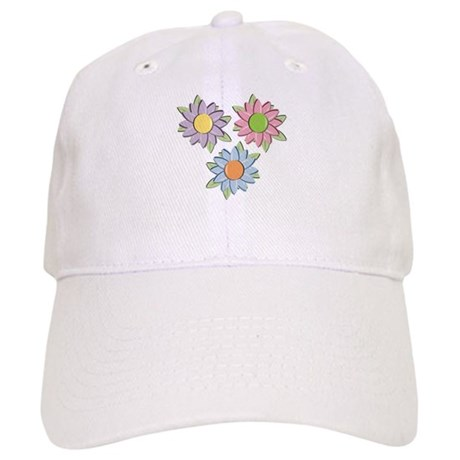 Pretty Mother's Day Cartoon Flowers Cap