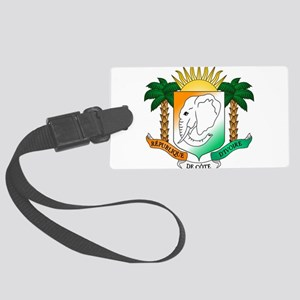 Ivory Coast or Cote d'Ivoire Coat of Arms Luggage