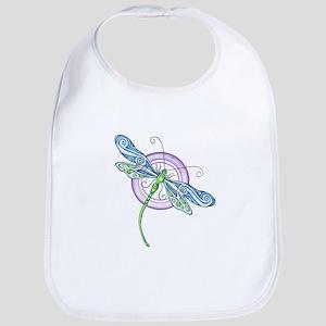 Whimsical Dragonfly Bib
