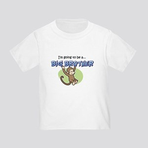 Big Brother to be (Monkey) Toddler T-Shirt