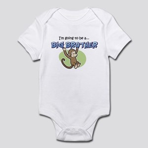 Big Brother to be (Monkey) Infant Bodysuit