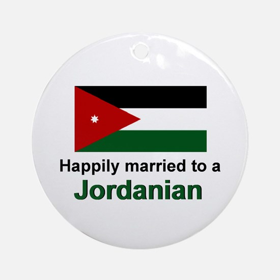 Happily Married To A Jordania Keepsake Ornament