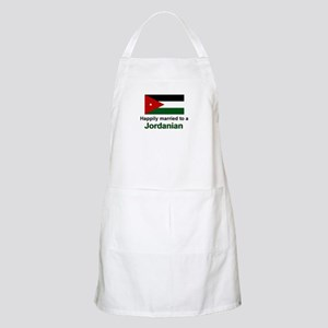Happily Married To A Jordania BBQ Apron