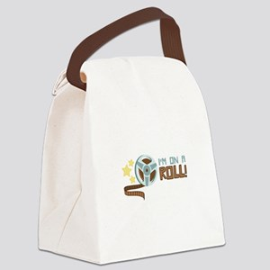 Im on a Roll Canvas Lunch Bag