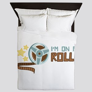 Im on a Roll Queen Duvet