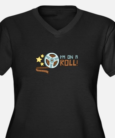 Im on a Roll Plus Size T-Shirt
