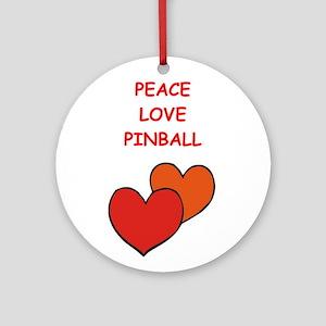 pinball Ornament (Round)