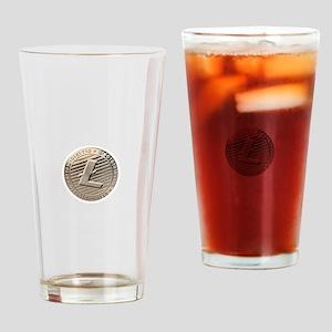 Litecoin Drinking Glass