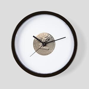 Litecoin Wall Clock