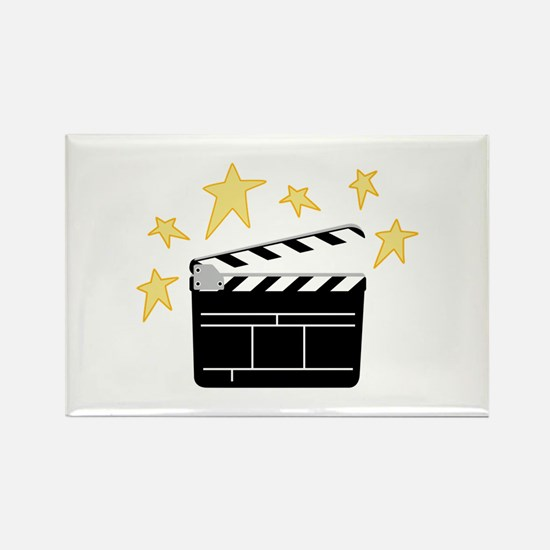 Action Clapperboard Magnets