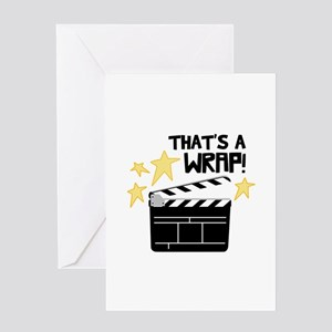 Thats a Wrap Greeting Cards