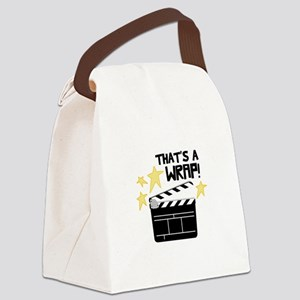 Thats a Wrap Canvas Lunch Bag