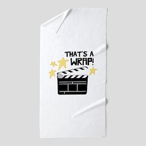 Thats a Wrap Beach Towel