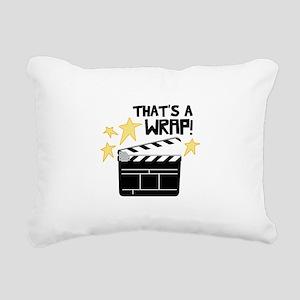 Thats a Wrap Rectangular Canvas Pillow