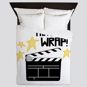 Thats a Wrap Queen Duvet