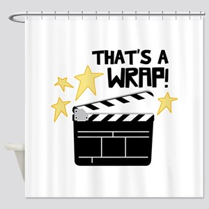 Thats a Wrap Shower Curtain