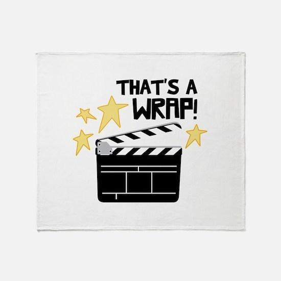 Thats a Wrap Throw Blanket
