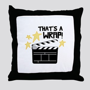 Thats a Wrap Throw Pillow