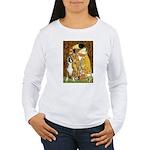 The Kiss & Boxer Women's Long Sleeve T-Shirt