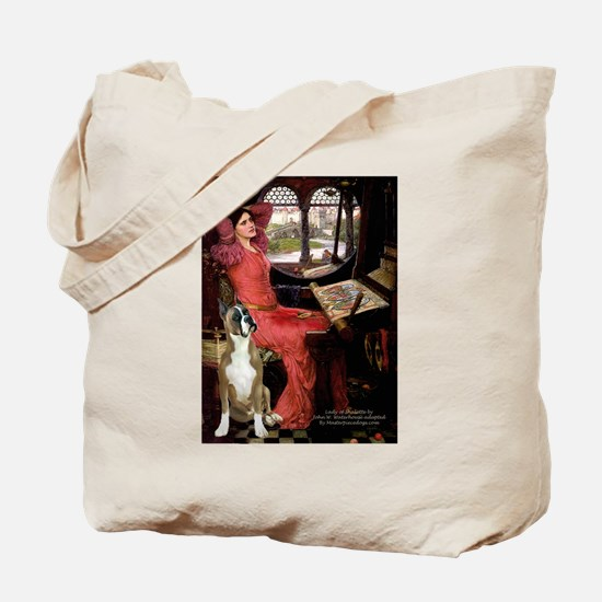 Lady & Boxer Tote Bag