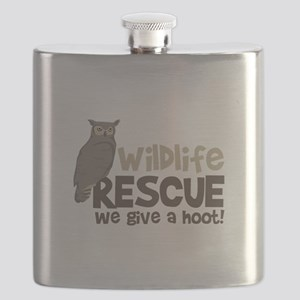 Wildlife Rescue We give a hoot! Flask